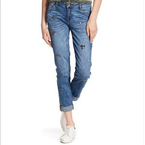 Kut from the Kloth embellished Catherine Jeans